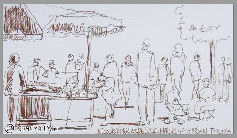 Le marché St Cyprien à Toulouse (2)