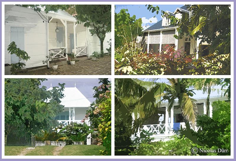 Les maisons coloniales