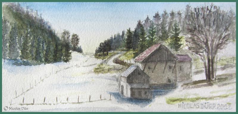 En ce mois de mars 2012 exceptionnel, cette fin d'hiver se donne déjà des accents printanniers et la neige fond à vue d'oeil.