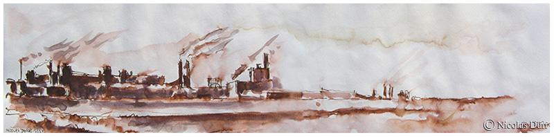 Raffineries de Fos sur Mer