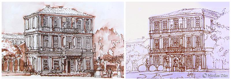 Le pavillon de Vendôme à Aix-en-Provence (1)