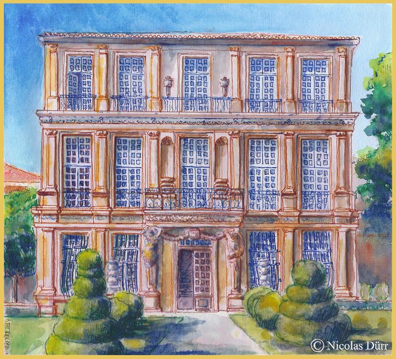 Le pavillon de Vendôme à Aix-en-Provence en 2014 (5)
