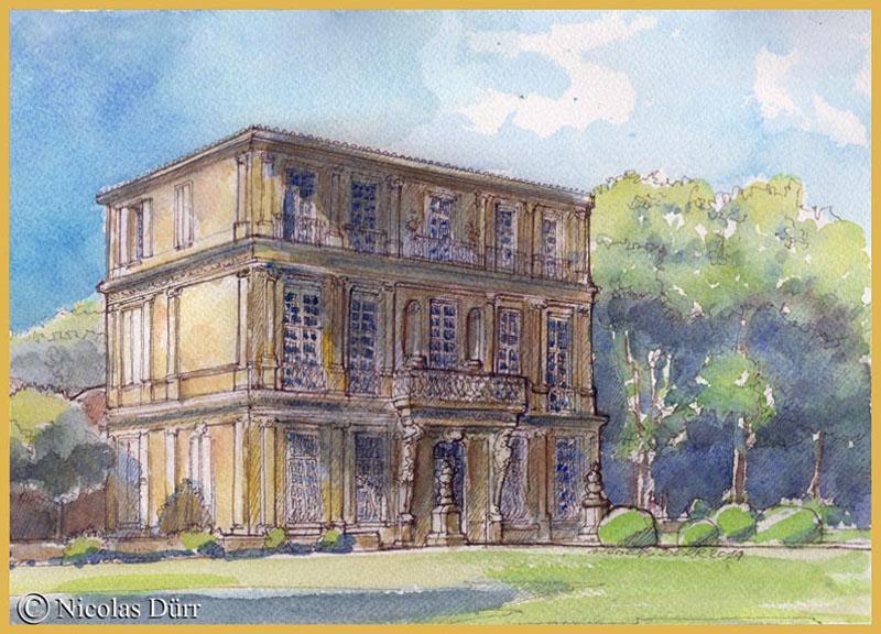 Le pavillon de Vendôme à Aix-en-Provence en 2014 (3)