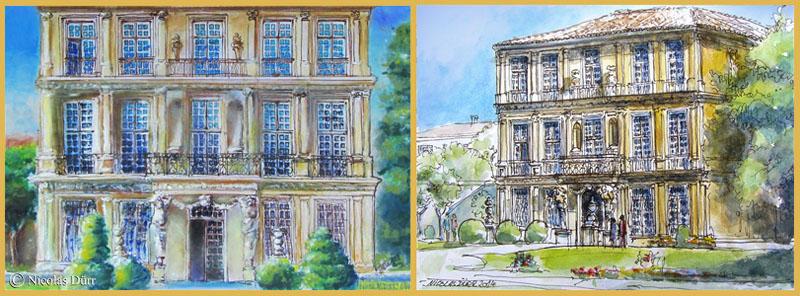 Le pavillon de Vendôme à Aix-en-Provence en 2014 (4)