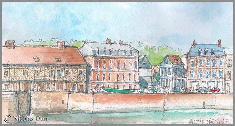 """La maison dite """"Henri IV"""" à Saint Valery en Caux"""