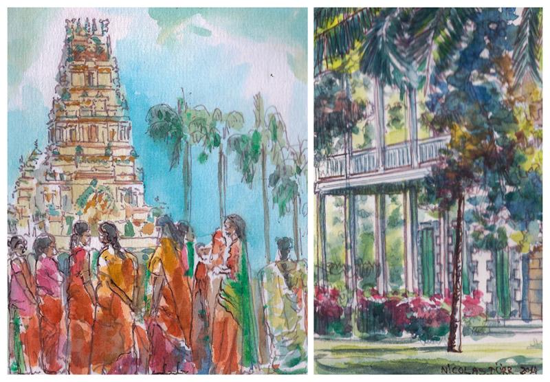 De Pamplemousse au temple Hindou