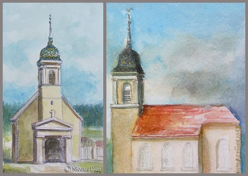 L'église du Malpas