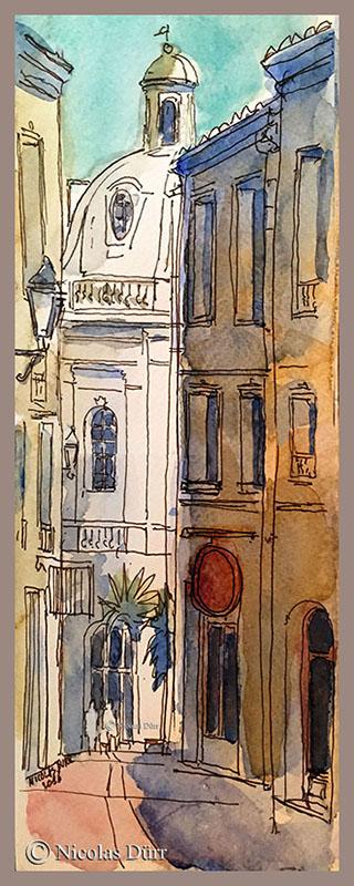 Montpellier, rue St Côme, 29 mai 2016