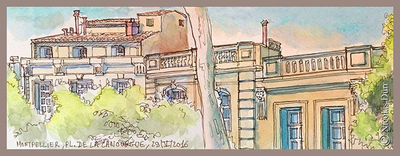 Montpellier, place de la Canourgue (2), 29 mai 2016