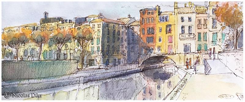 Du pont romain au pont des Marchands
